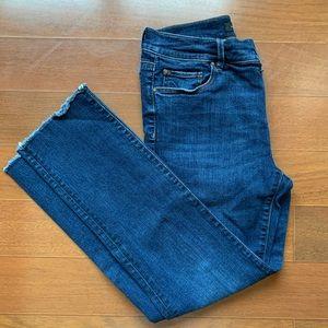 Ann Taylor slim crop modern fit jeans